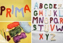 Buchstaben häkeln