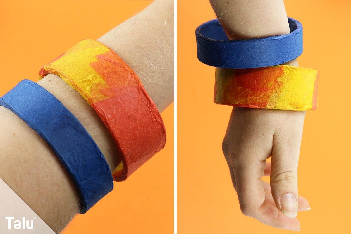Armband mit Decopatch basteln