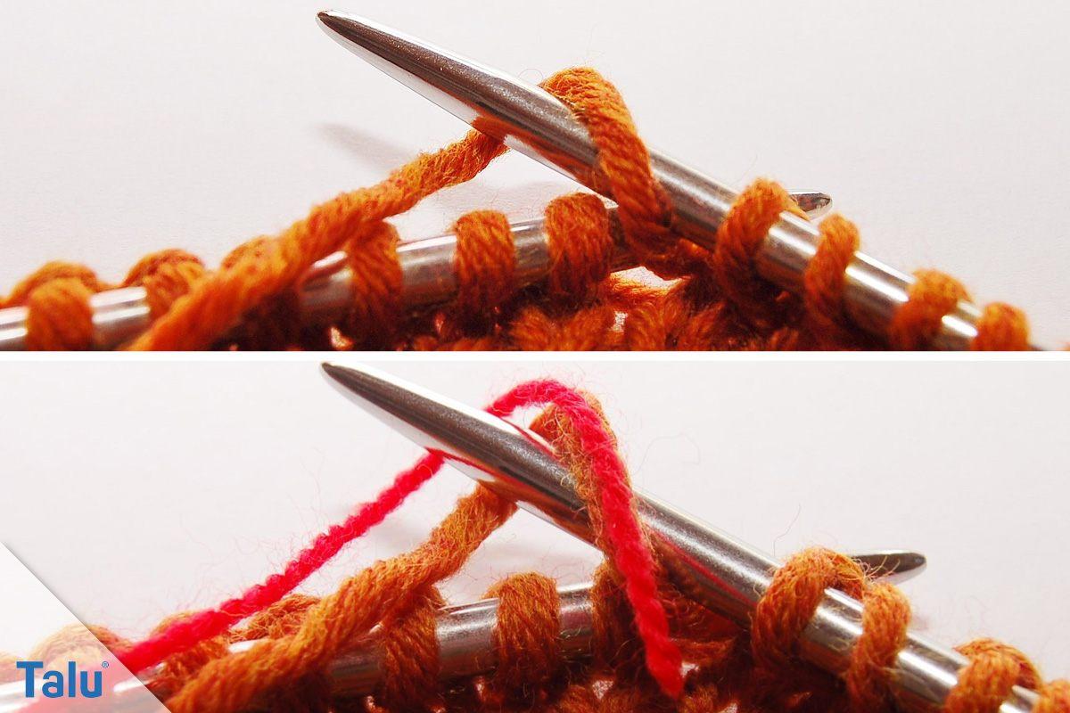 Drachenschal stricken