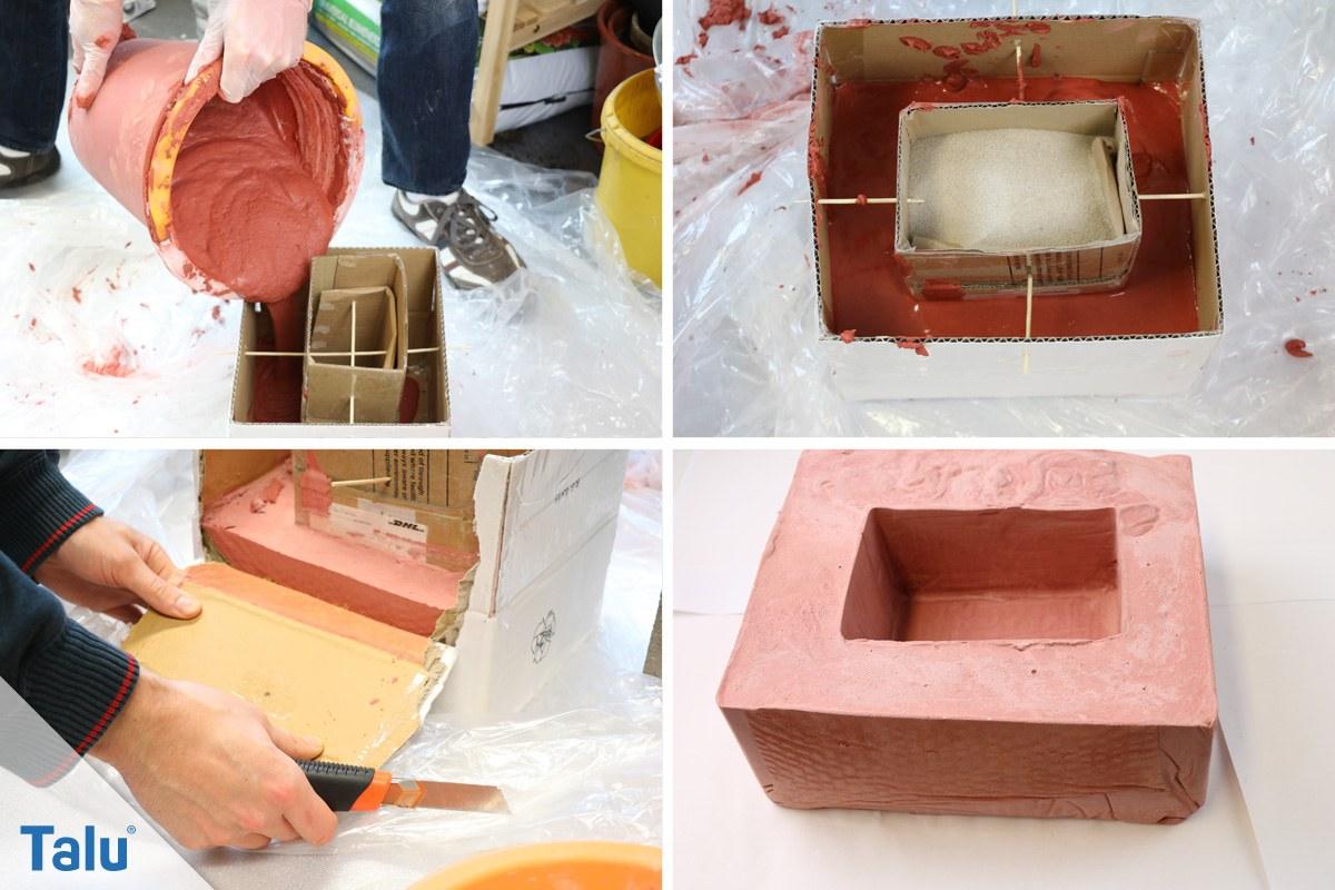 Beton Einfärben Mit Pigmenten DIYAnleitung Für Farbigen Beton - Farbige betonplatten