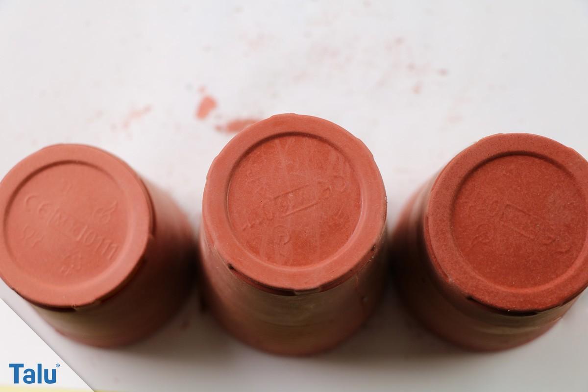 Rote Farbpigmente für farbigen Beton