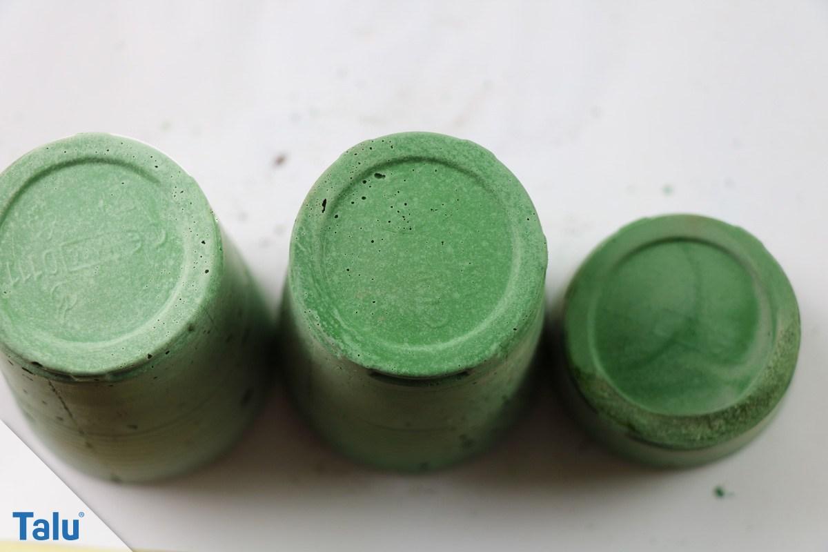 Grüne Farbpigmente für farbigen Beton