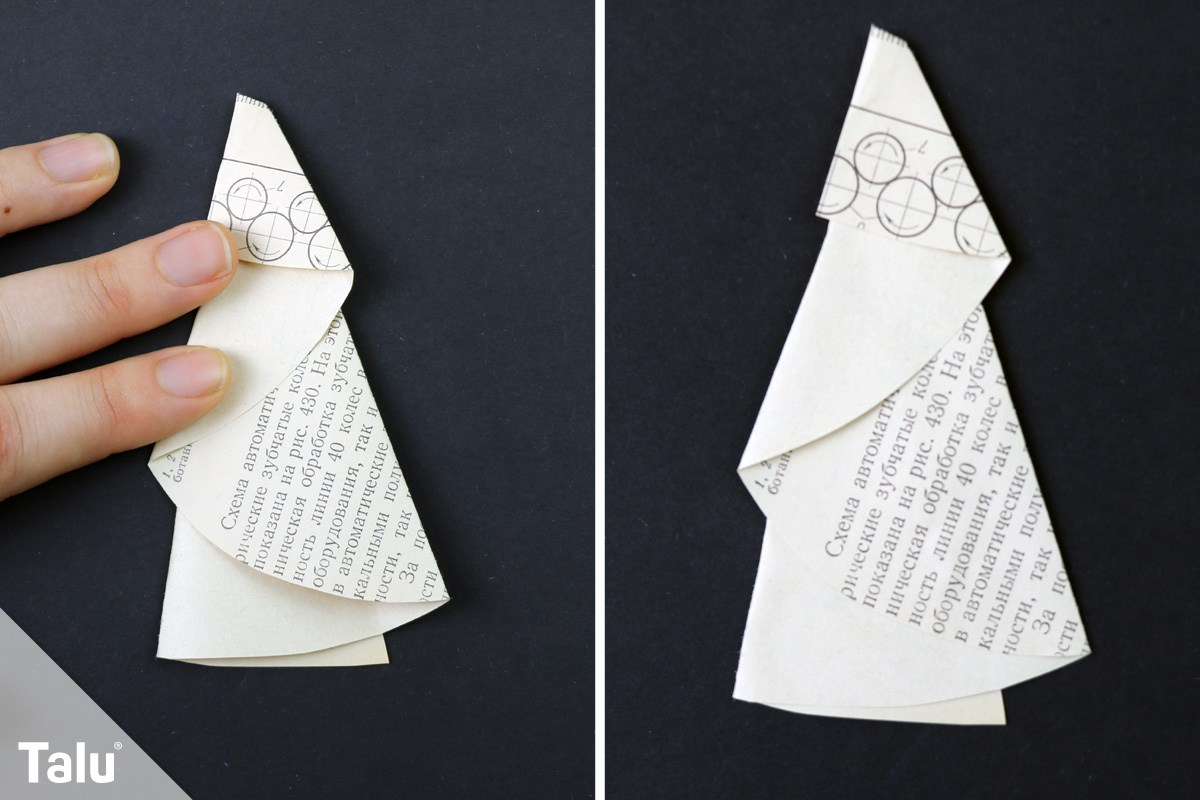 Origami Tannenbaum
