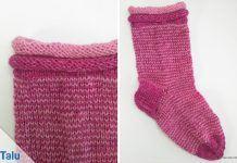 GumGum-Socken stricken