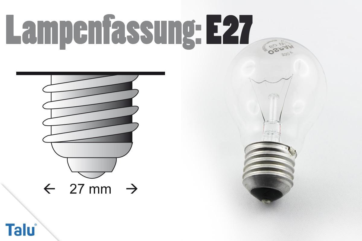 Lampenfassung E27