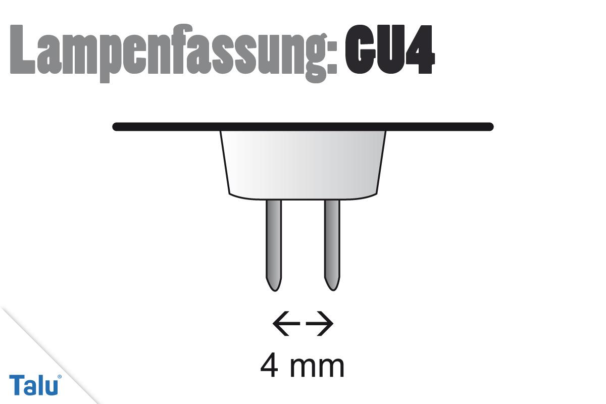 Lampenfassung GU4