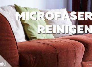 Microfaser reinigen