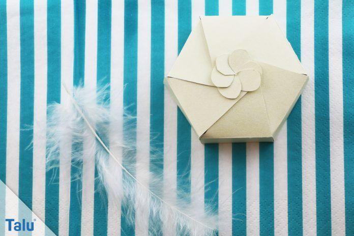 Papierschachteln basteln