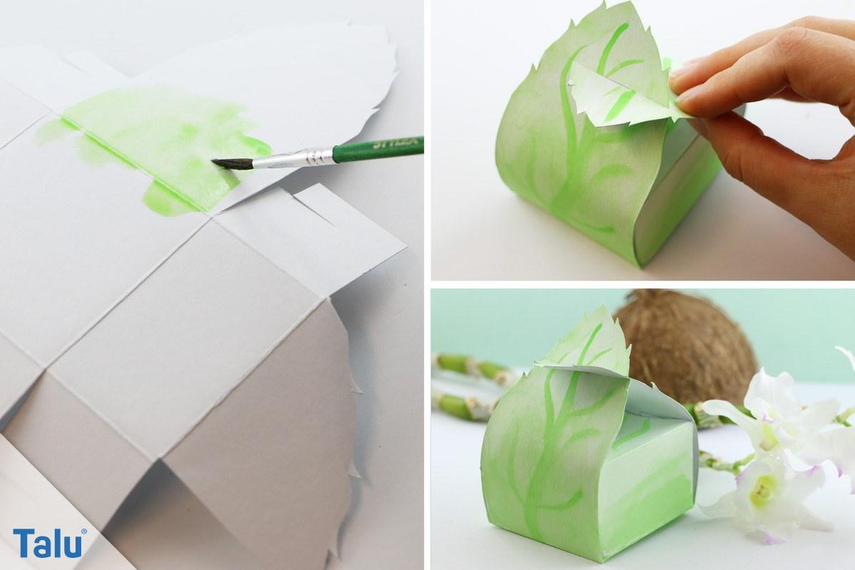 Vorlage für Papierschachteln