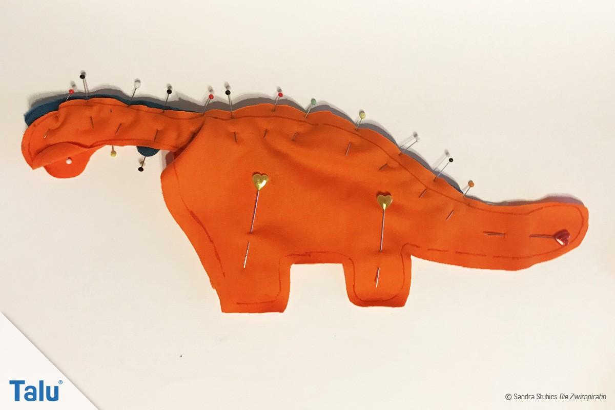 Dinosaurier nähen