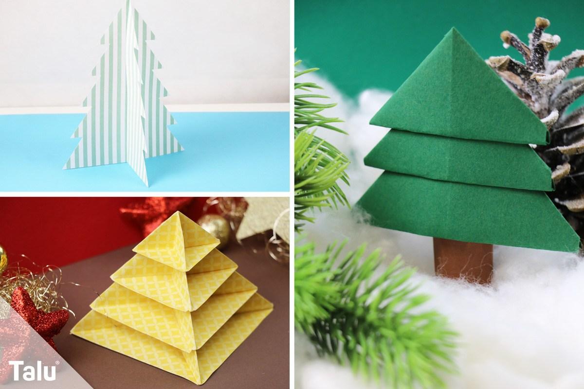 tannenbaum basteln aus papier anleitung und ideen. Black Bedroom Furniture Sets. Home Design Ideas