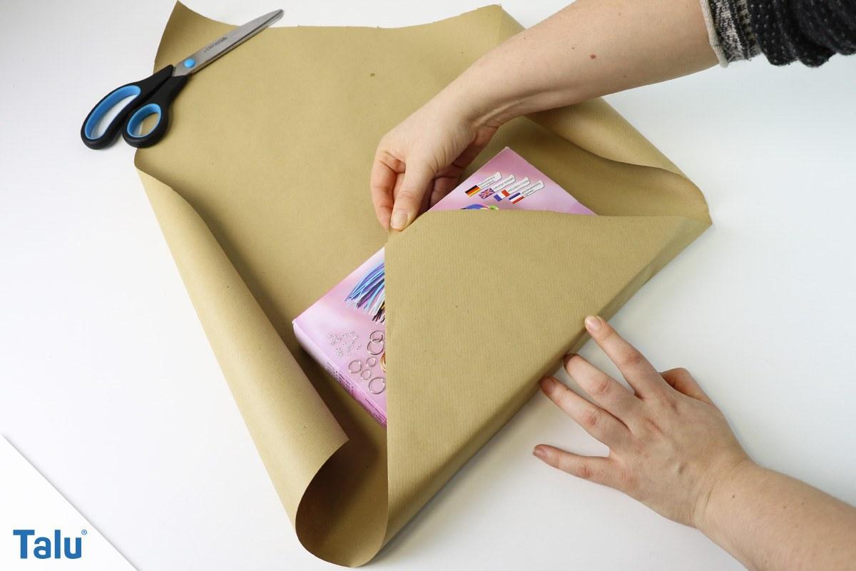 Geschenk japanisch einpacken