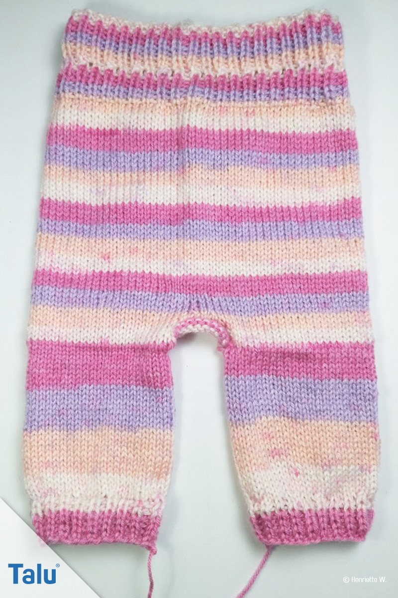 Babyhose stricken
