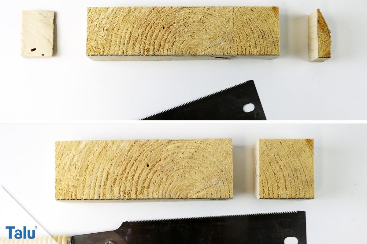 Holzengel aus Baumscheibe