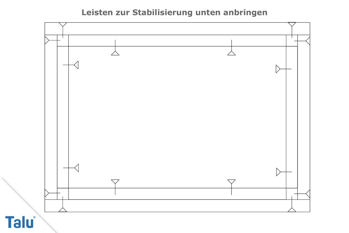 Holzkisten Bauanleitung Schritt 4