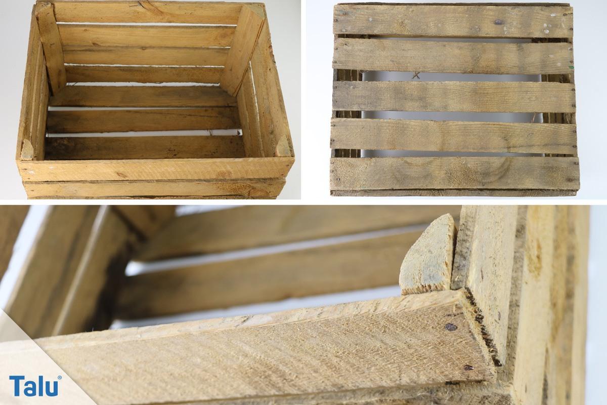 holzkiste selber bauen anleitung mit ohne deckel. Black Bedroom Furniture Sets. Home Design Ideas
