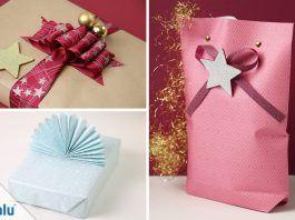 Weihnachtsgeschenke verpacken