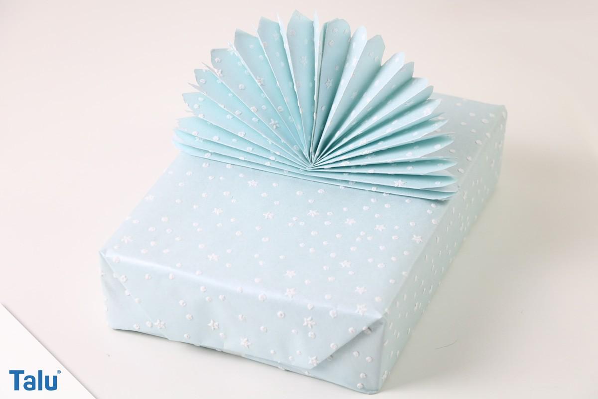 Geschenk mit Fächer