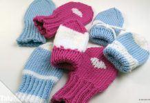 Babyhandschuhe stricken