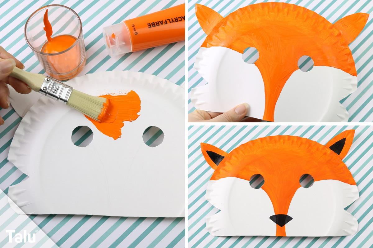 Fuchsmaske basteln