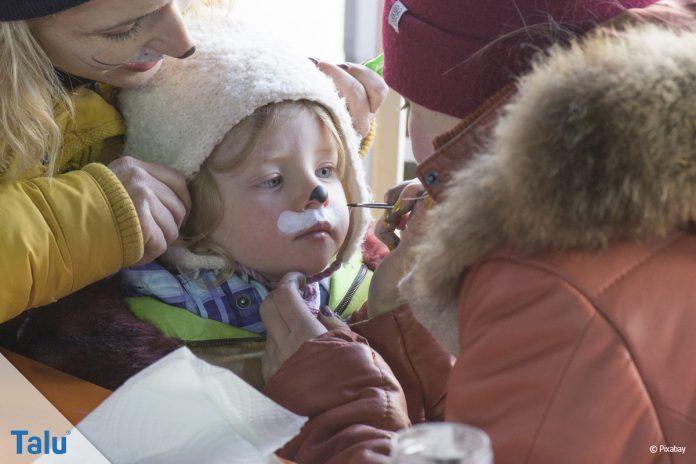Kinderschminken - Anleitung
