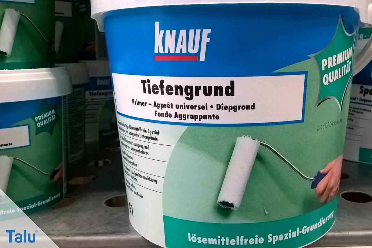 Rigips vor dem Streichen richtig grundieren - DIY-Anleitung - Talu.de