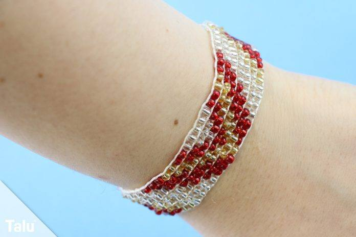 Rocailles Armband selber machen