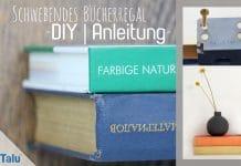 Schwebendes Bücherregal selber bauen, DIY-Anleitung
