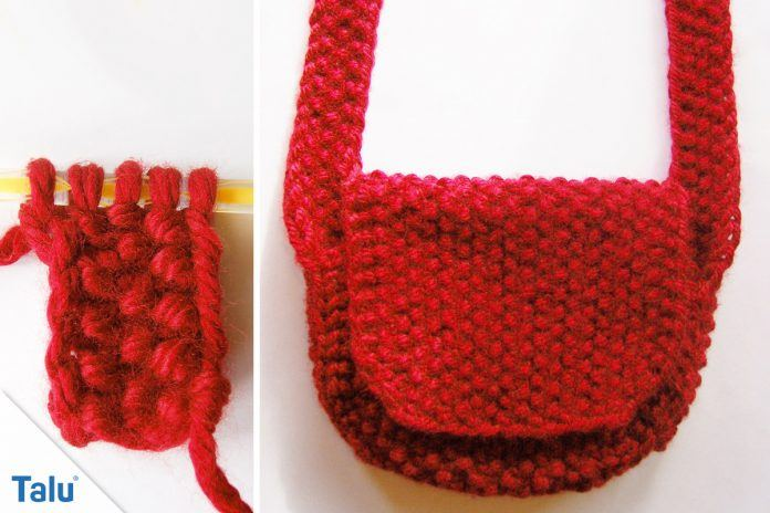 Tasche Stricken Für Anfänger Anleitung Für Eine Stricktasche Talude