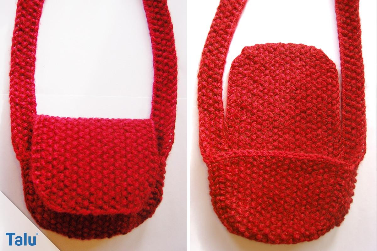 Tasche stricken