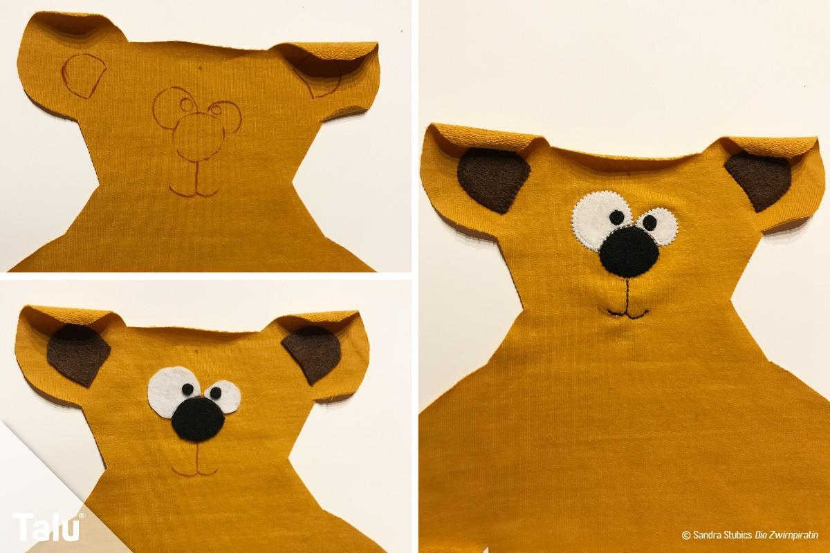 Teddybär nähen