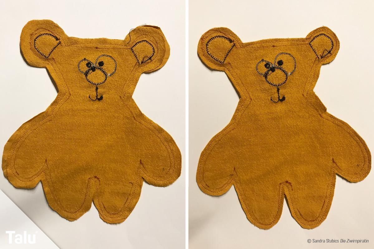 Teddybären nähen
