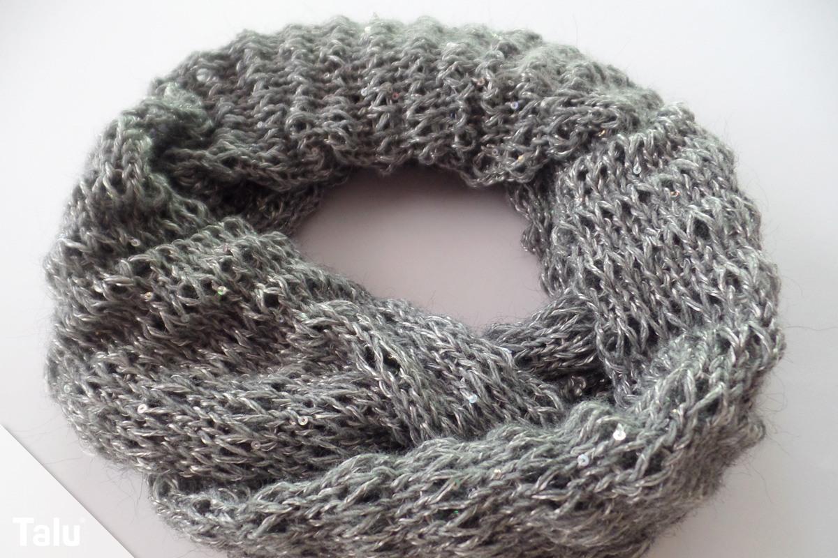 Wollmenge für einen Schal