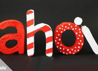 3D Buchstaben basteln