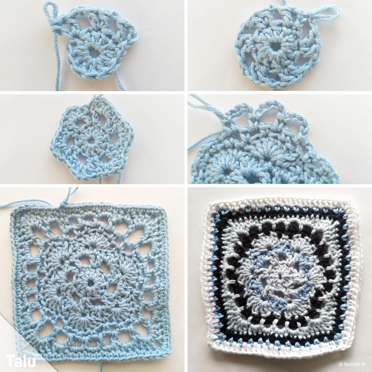 Muster für Granny Squares