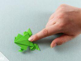 Origami Tiere falten