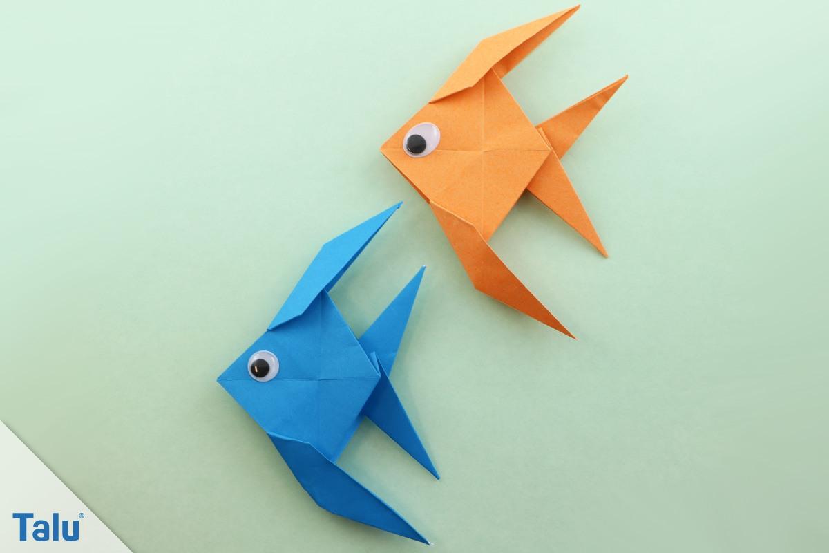 Berühmt Origami Tiere falten – 12 Anleitungen von leicht bis schwierig ZD44