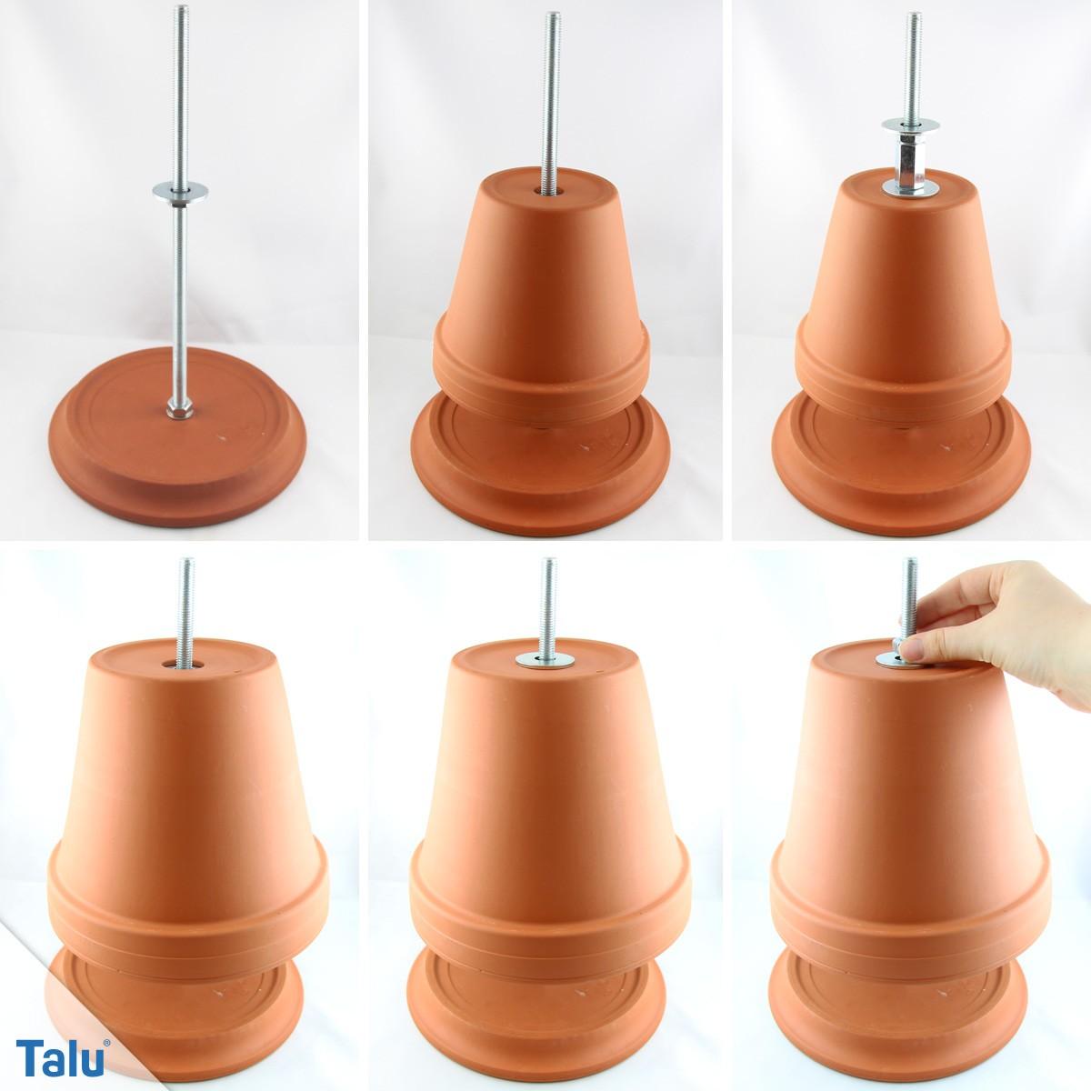 Teelichtheizung bauen