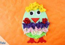 Basteln an Ostern im Kindergarten