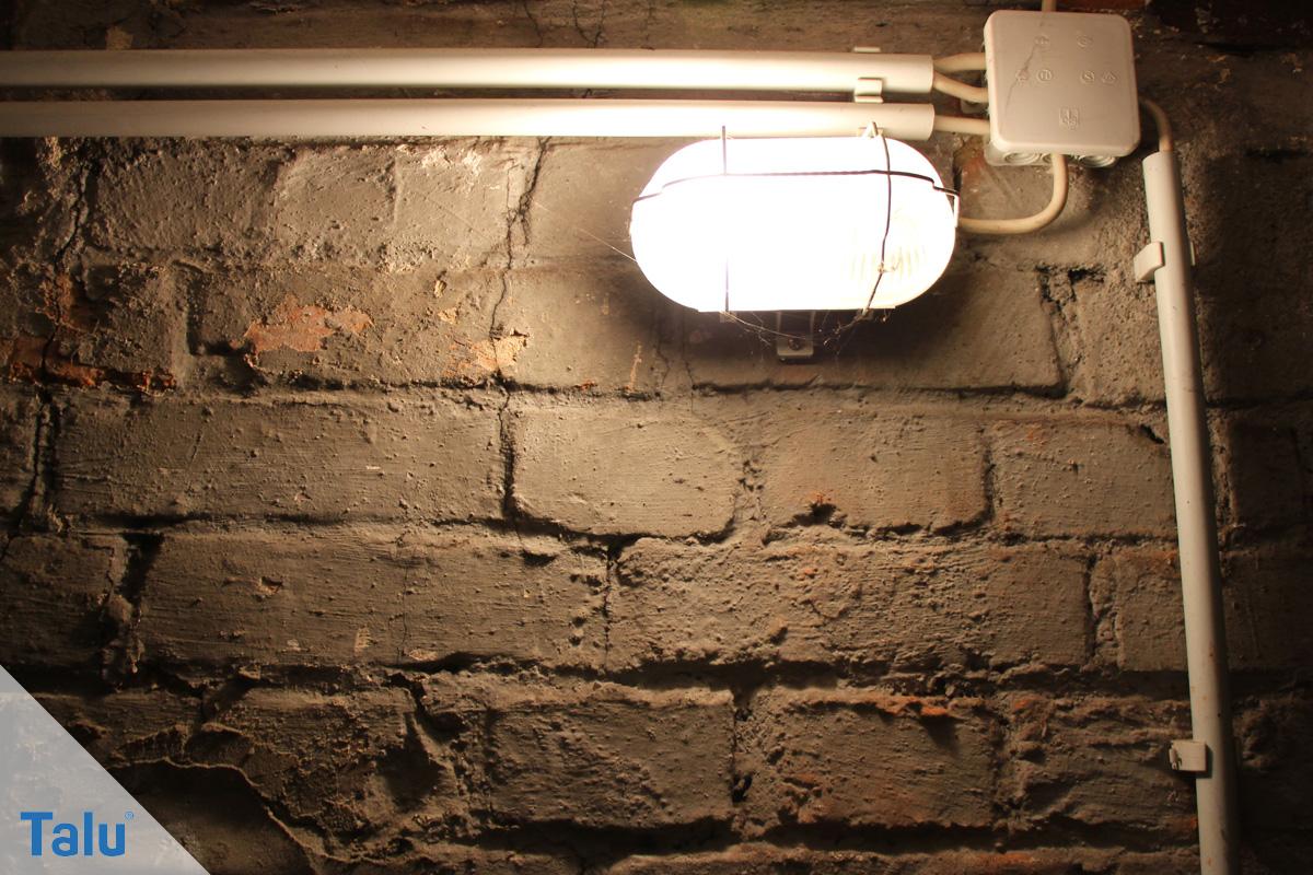 Dichtschlämme auftragen, Anleitung, Kellerwand