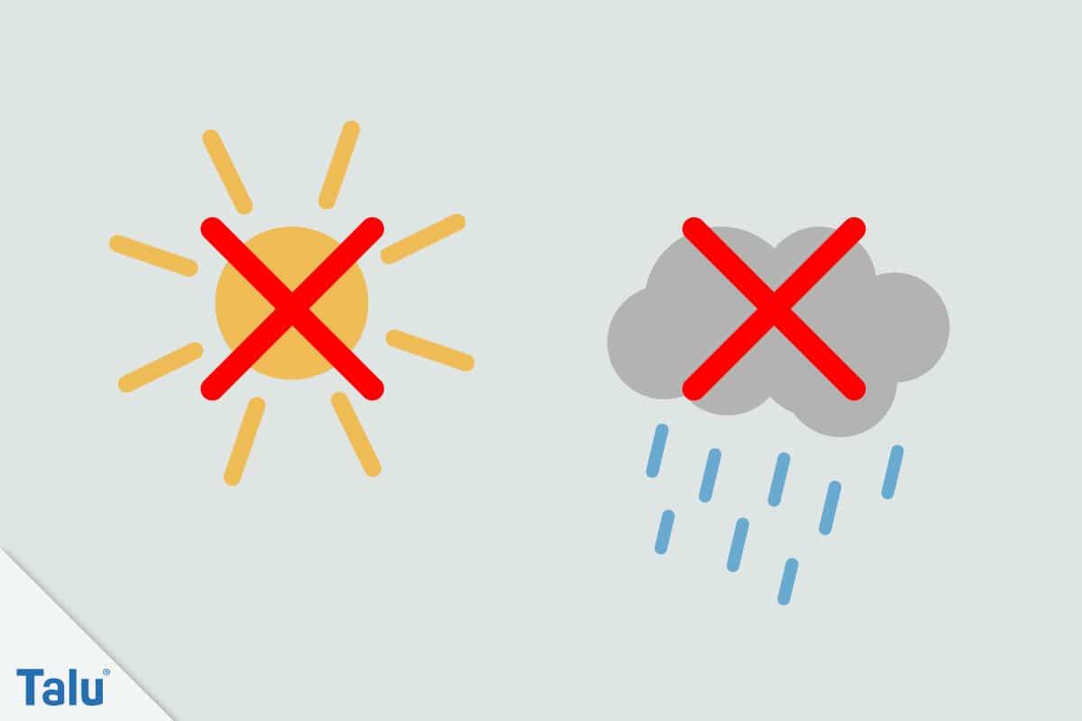 Dichtschlämme auftragen, Anleitung, Dichtschlämme vor Sonnenlicht und Regen schützen