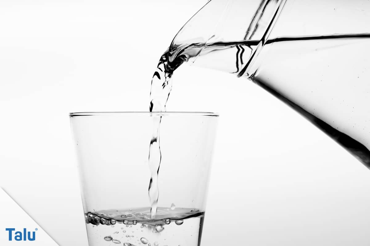 Dichtschlämme auftragen, Anleitung, Trinkwasser aus Kanne