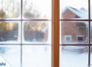 Fenster putzen bei Kälte