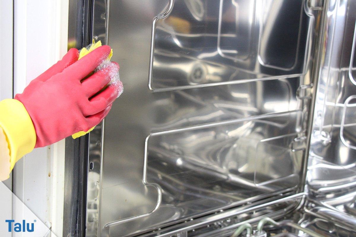 Spülmaschine entkalken
