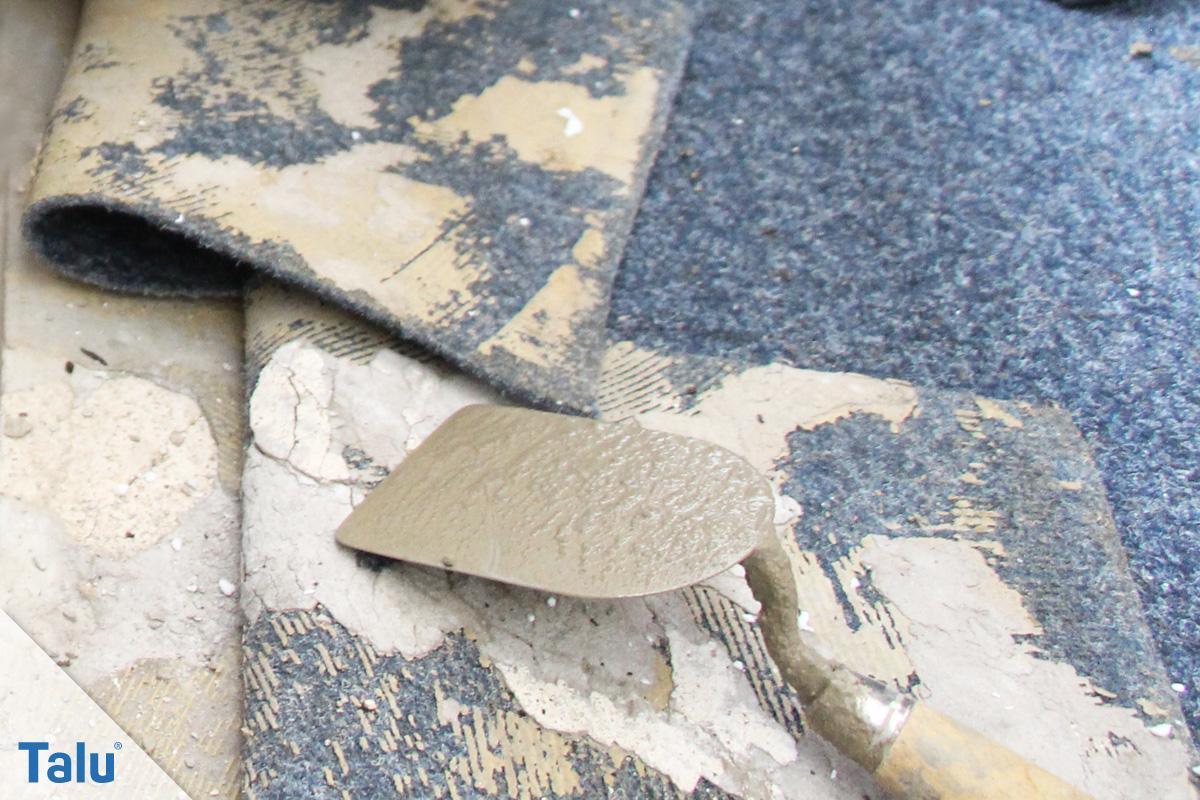 Häufig Teppichkleber einfach entfernen - von Holz, Beton & Co - Talu.de FA49