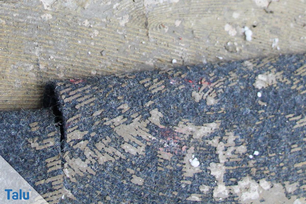 teppichkleber einfach entfernen von holz beton