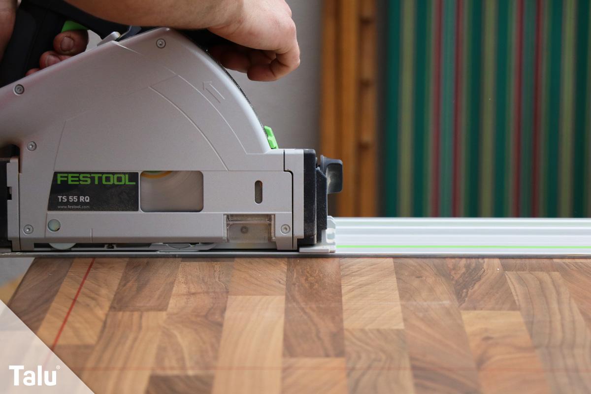 arbeitsplatte zuschneiden anleitung und tipps zum s gen. Black Bedroom Furniture Sets. Home Design Ideas