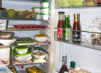 Kühlschrank richtig einräumen
