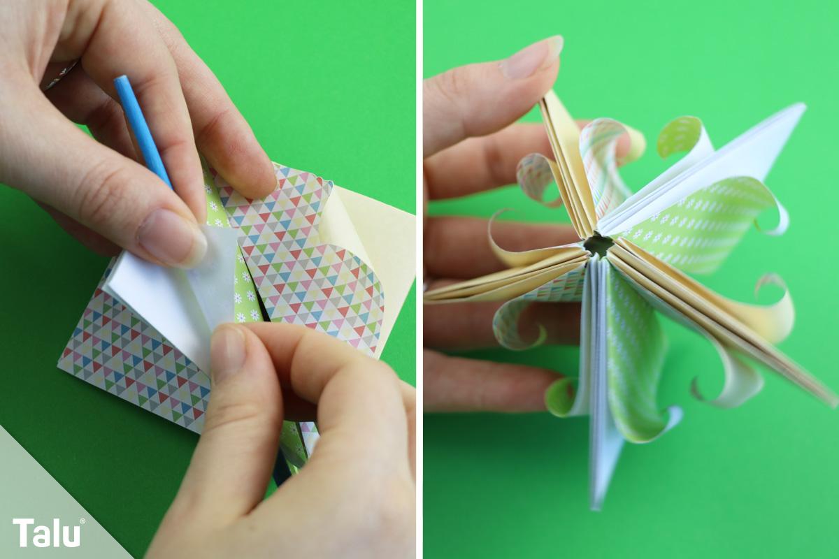 Origami-Blüte