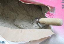 Unterschied zwischen Zement, Putz und Mörtel